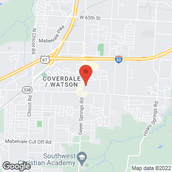 Map of Citi Trends at 8717 Geyer Springs Rd, Little Rock, AR 72209