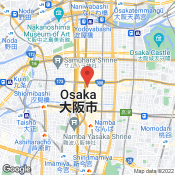 Map of Michael Kors at 1-7-1 Shinsaibashisuji, Osaka-shi, Osaka-fu 542-8501