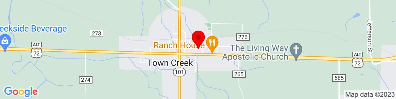 Google Map of 34.6822585, -87.4008259