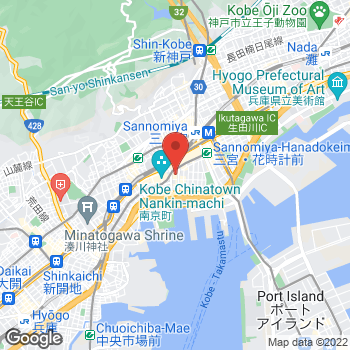 Map of Kobe Daimaru FRED Boutique at 2F 40 Akashi-machi, chuo-ku, Kobe City, 兵庫県 600-8520