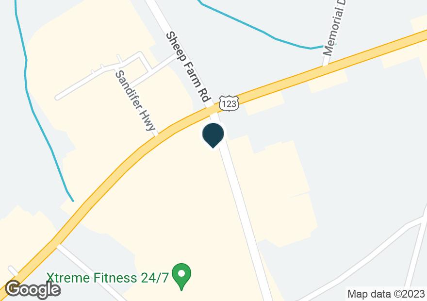 Google Map of1601 SANDIFER BLVD