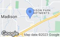 Map of Madison, AL