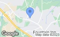 Map of Fountain Inn, SC