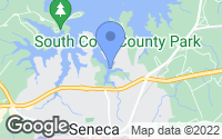 Map of Seneca, SC