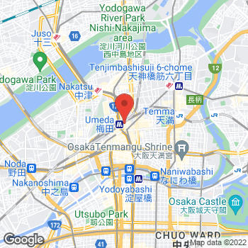 Map of Michael Kors at 8-7 Tsunoda-cho, Kita-Ku, Osaka-fu 530-8350