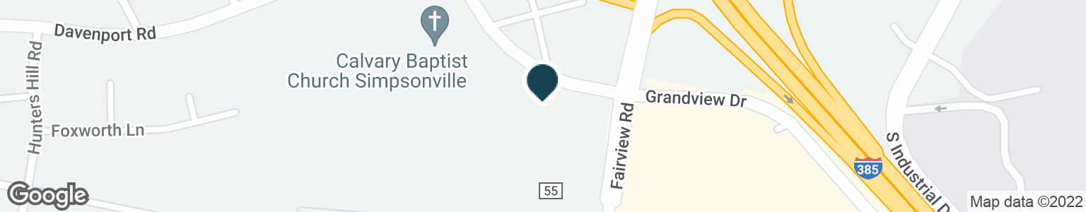 Google Map of618 FAIRVIEW RD