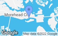 Map of Morehead City, NC
