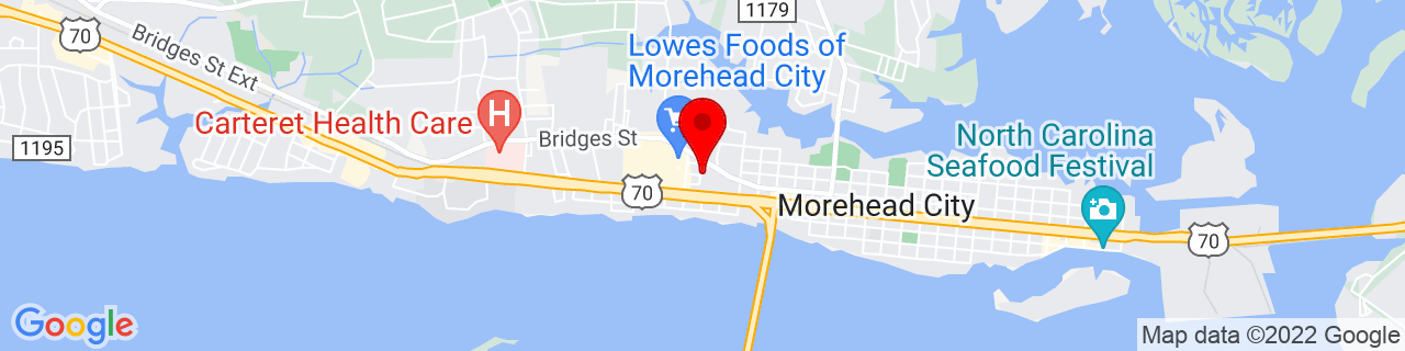 Google Map of 34.72488, -76.73966