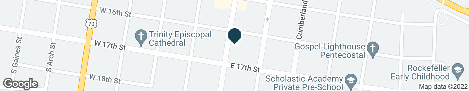Google Map of1601 MAIN ST