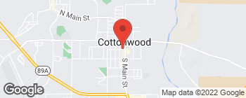 Map of 56 S Main St in Cottonwood