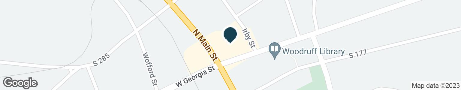 Google Map of121 NORTH MAIN STREET