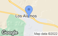 Map of Los Alamos, CA