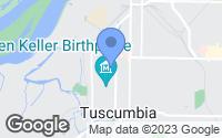 Map of Tuscumbia, AL
