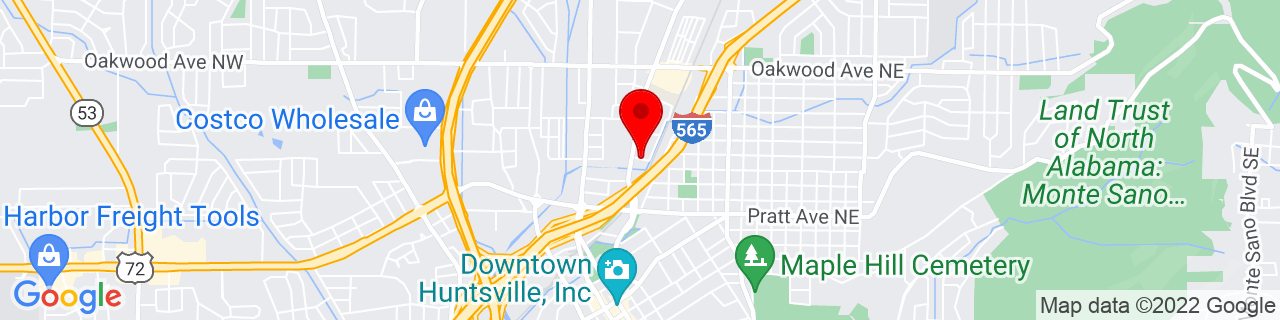 Google Map of 34.742646, -86.5842177