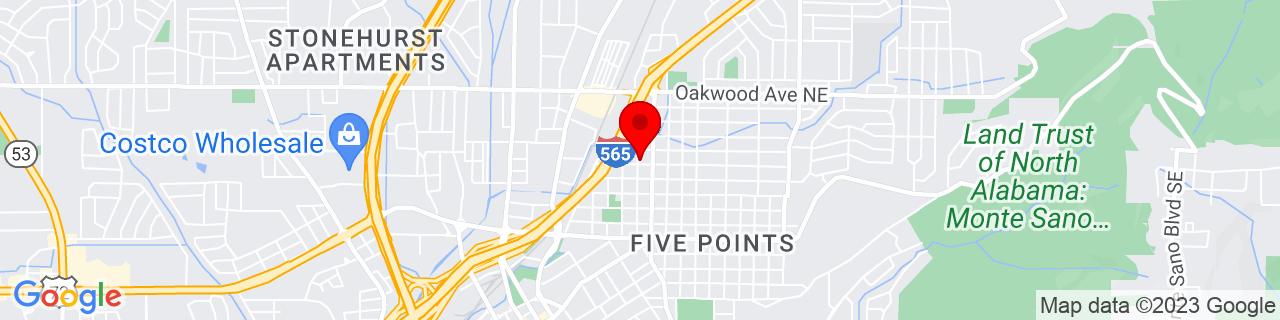 Google Map of 34.7442418, -86.5777752