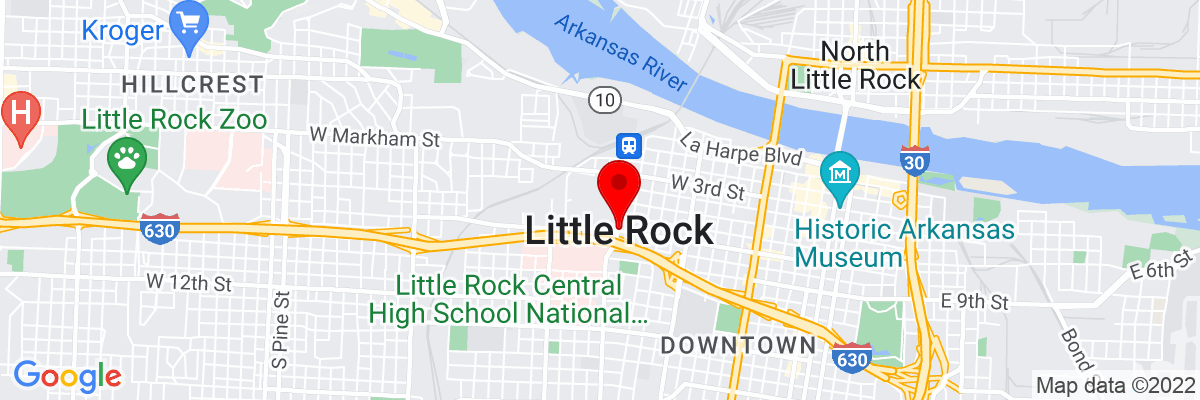 Google Map of 34.746480833333,-92.289594722222