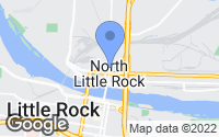 Map of North Little Rock, AR