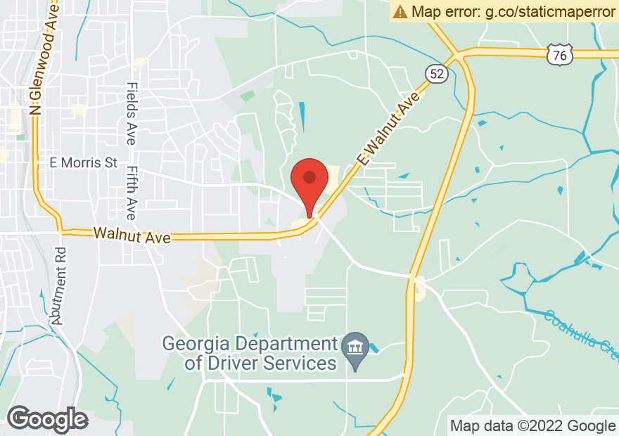 Google Map of 2225 E WALNUT AVE