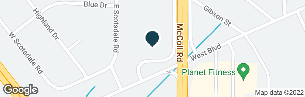 Google Map of821 WESTWOOD WAY