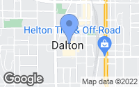 Map of Dalton, GA