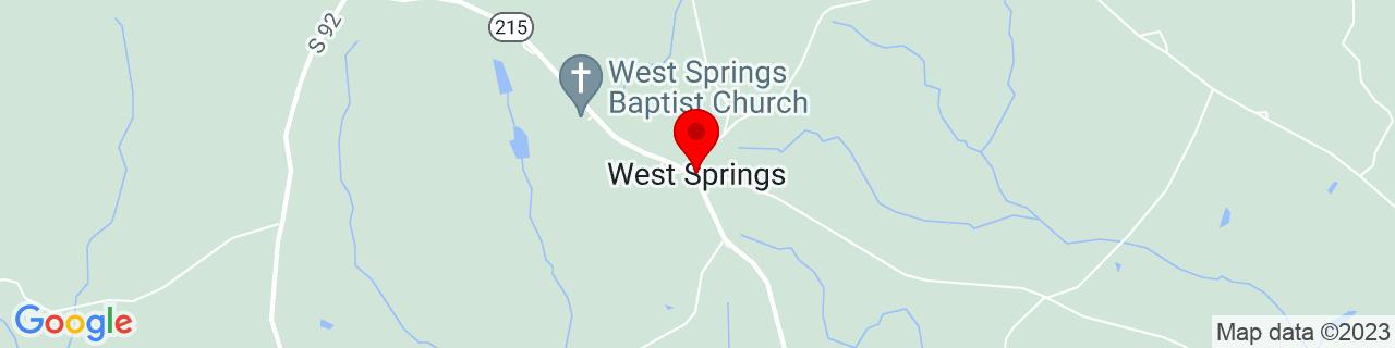 Google Map of 34.77097, -81.78177