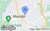 Map of Mauldin, SC