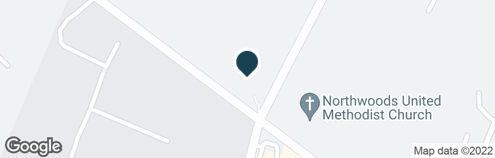 Google Map of1600 GUM BRANCH RD