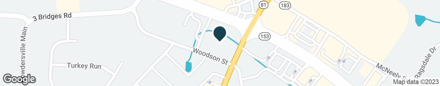 Google Map of3501 HIGHWAY 153