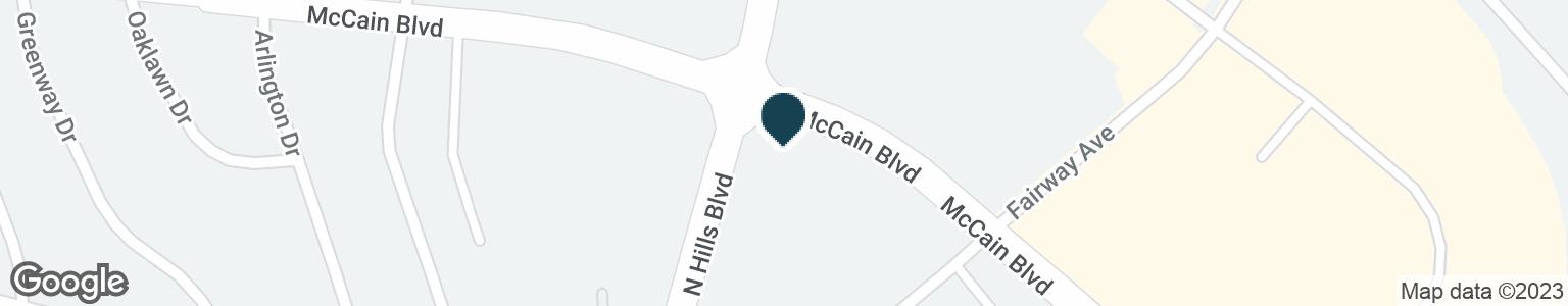 Google Map of2500 MCCAIN BLVD