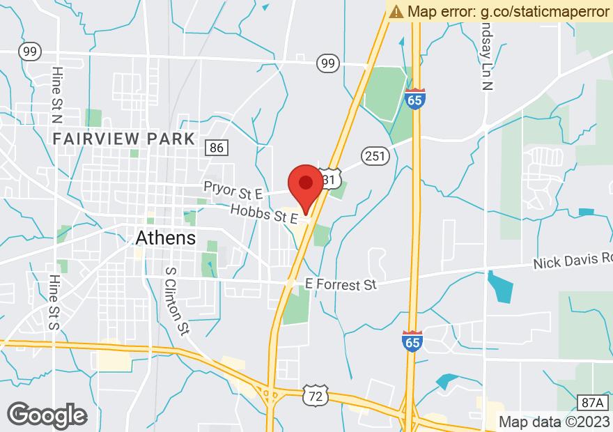 Google Map of 101 US HIGHWAY 31 N