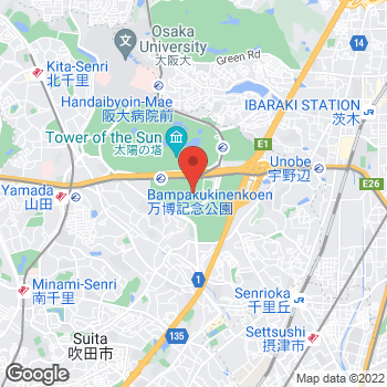 Map of Michael Kors at 2-1 Senribanpakukoen, Suita-shi, Osaka-fu 565-0826