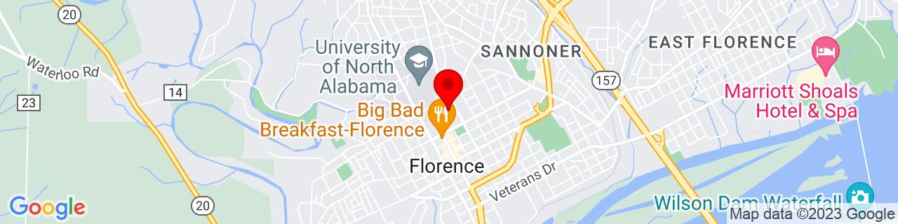 Google Map of 34.8051022, -87.6767927