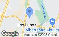 Map of Los Lunas, NM