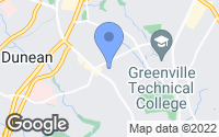 Map of Greenville, SC