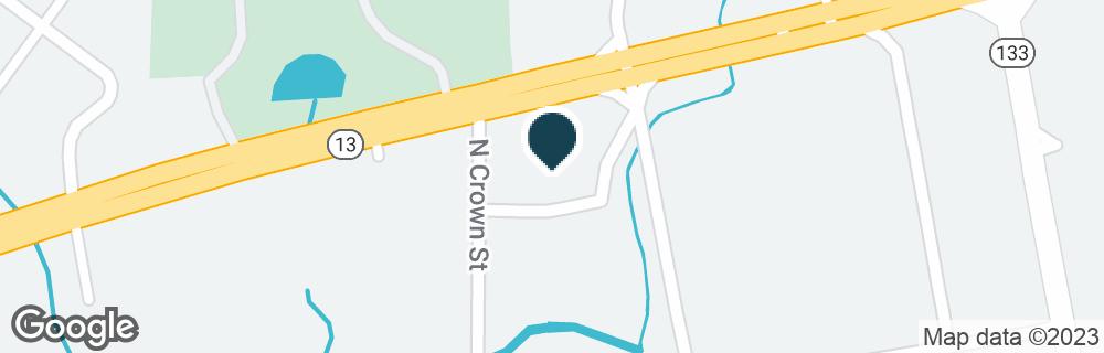 Google Map of2602 FLORENCE BLVD