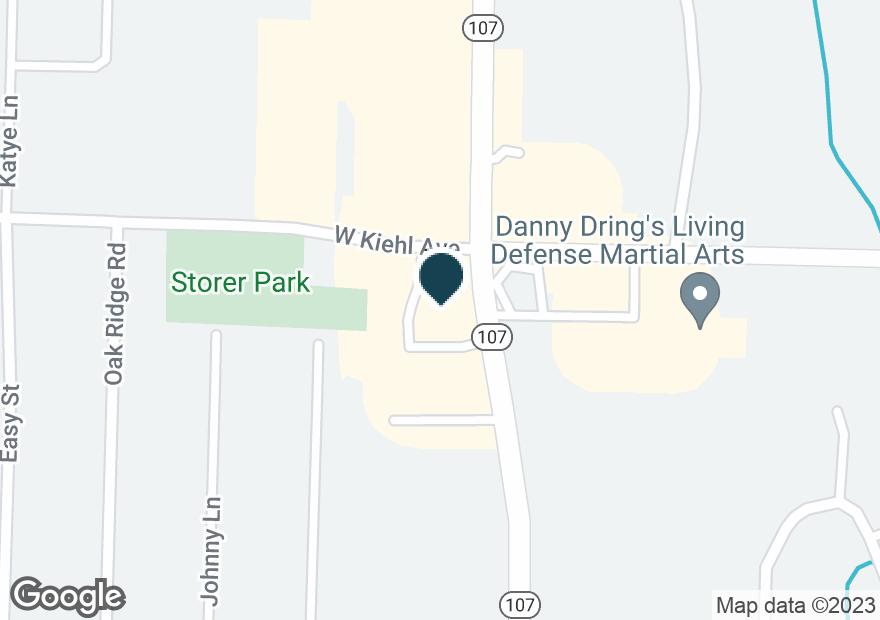 Google Map of8521 HIGHWAY 107