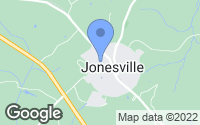 Map of Jonesville, SC