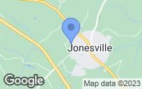 Map of Jonesville, SC