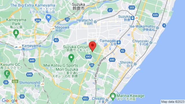 三重県鈴鹿市(鈴鹿サーキット)・岡山県(岡山国際サーキット)