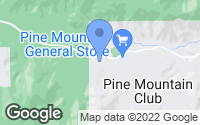Map of Pine Mountain Club, CA