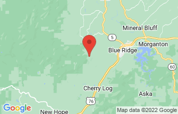 Map of Cherry Log