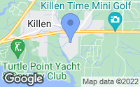 Map of Killen, AL