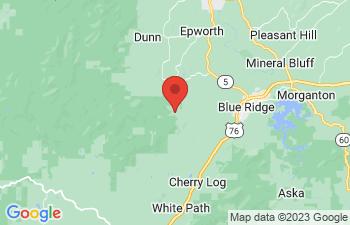 Map of Cherry Log