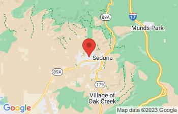 Map of Sedona