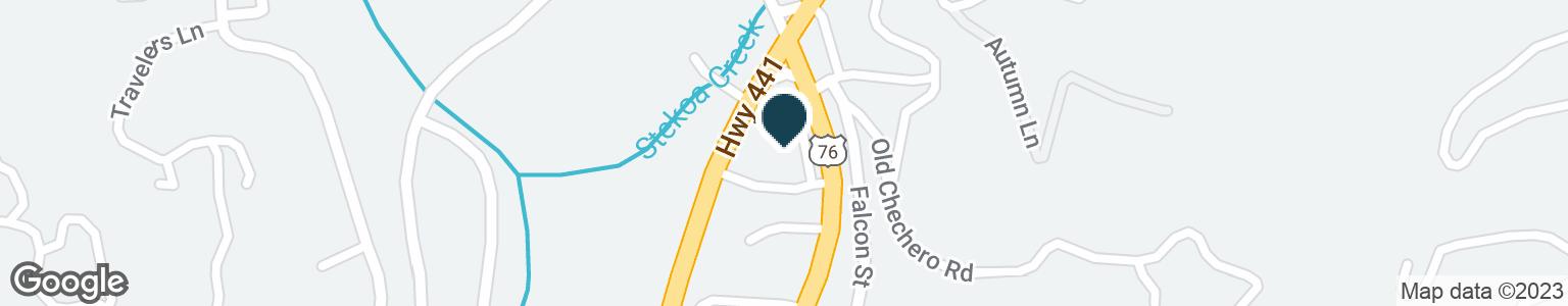 Google Map of355 HIGHWAY 441 S