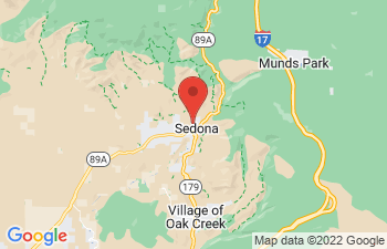 Map of Sedona
