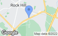 Map of Rock Hill, SC