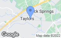 Map of Taylors, SC