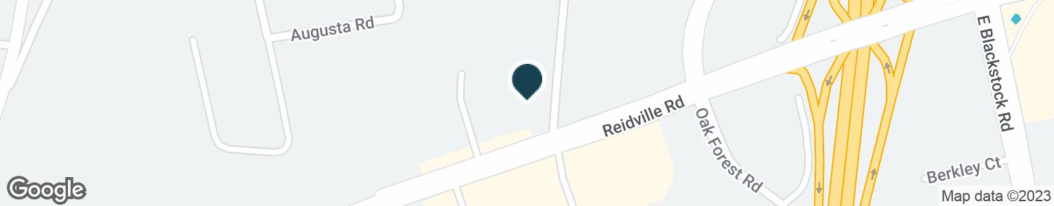 Google Map of2410 REIDVILLE RD