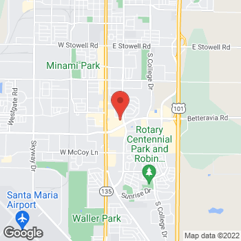 Map of Check `n Go Betteravia Road at 325 East Betteravia Road, Santa Maria, CA 93454